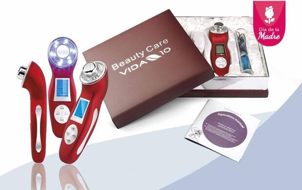 Sistema reductor de celulitis y cuidado personal 5 en 1