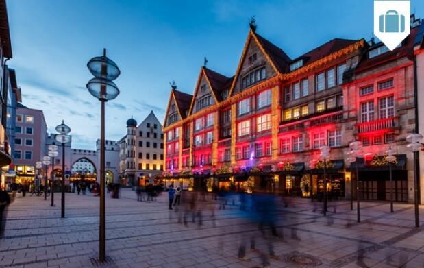 Hotel 3* o 4* en Munich 4 días