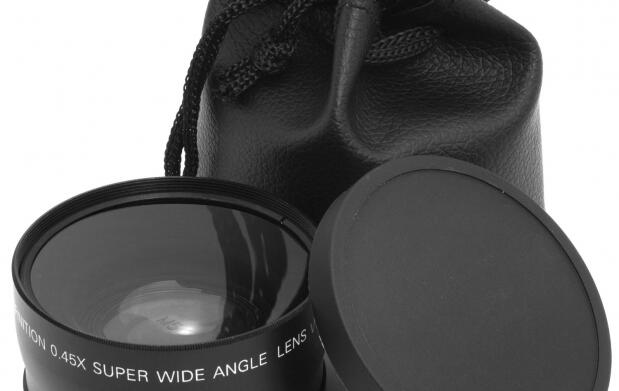 Lente gran angular y macro para objetivos Nikon de 52 mm o Canon de 58 mm