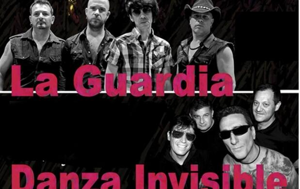 Danza Invisible y La Guardia en concierto