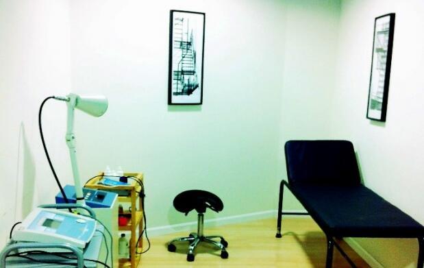 Masaje y termoterapia