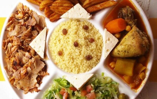 Menú super plato turco y bebida para dos