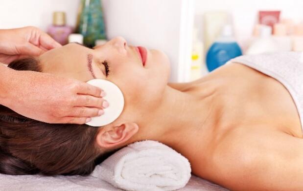 Tratamiento facial con cápsulas