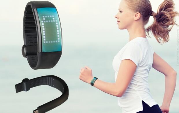 Reloj Podómetro cuenta calorías con USB