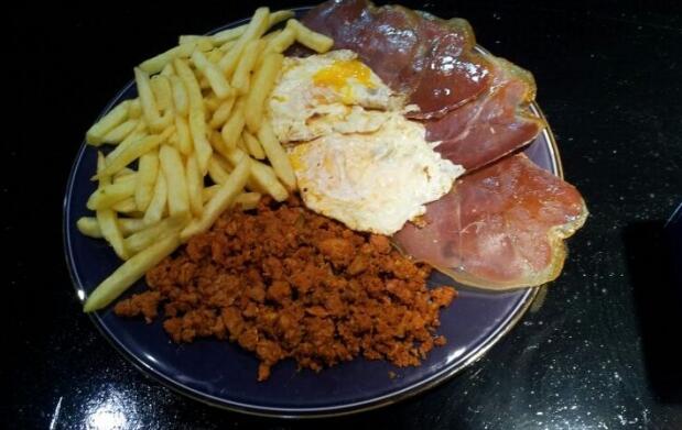 Menú típico asturiano para 2