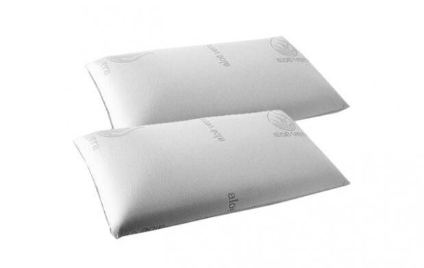 2 almohadas de copos viscoelásticos de 70 cm