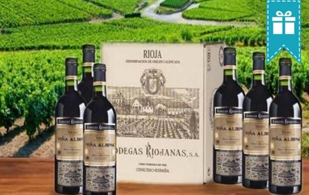 6 botellas Viña Albina Gran Reserva 2006