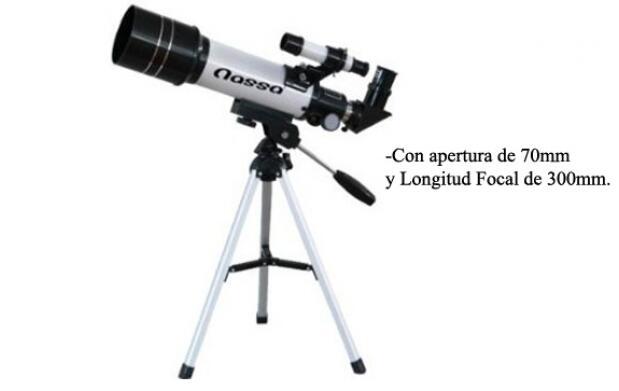 Telescopio Astronómico Refractor 300 mm