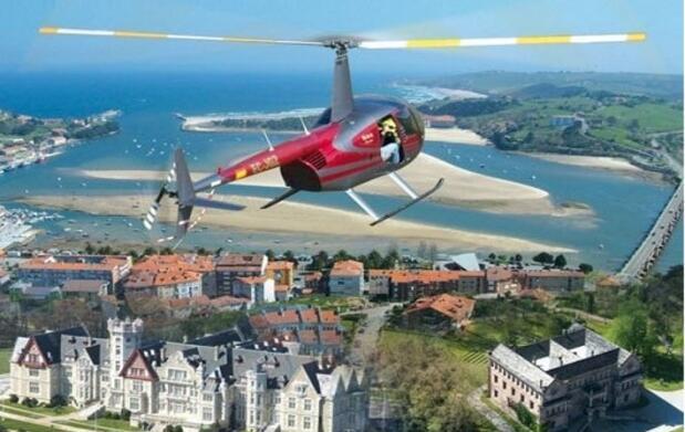 Piloto de helicóptero por un día