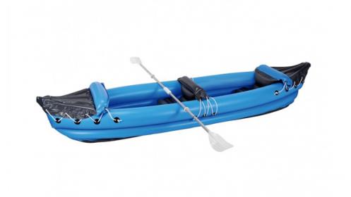 Kayak hinchable de dos plazas