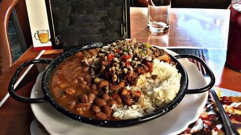 Menú latino y cocina tradicional para 2