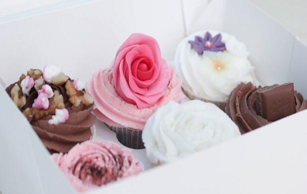 Bandeja de 6 cupcakes