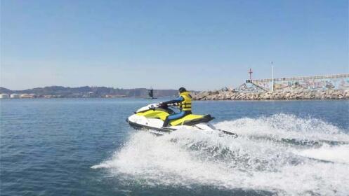 Paseo en moto de agua para 1 ó 2 personas