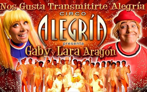 Estreno Circo Alegría en Gijón