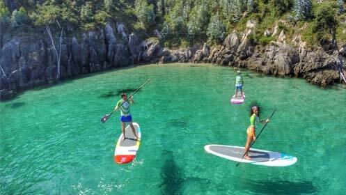 Rutas guiadas en Paddle Surf