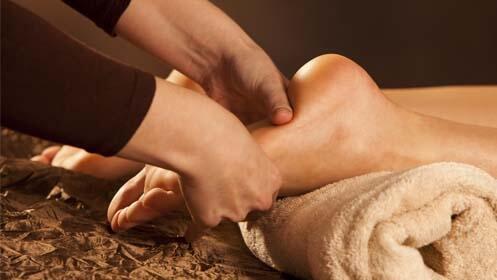 Pedicura con masaje podal