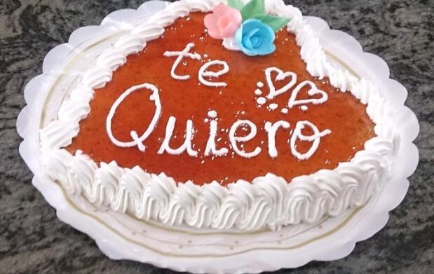 Tarta especial para San Valentín