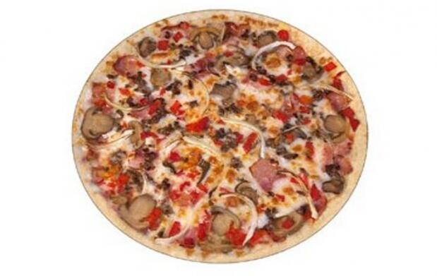 2 pizzas medianas más bebida
