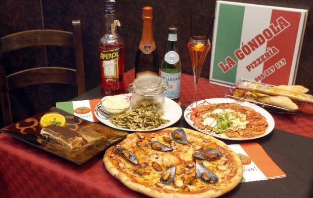 Menú italiano para dos