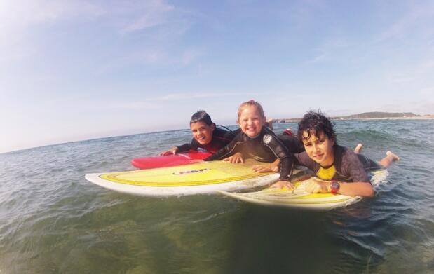 Curso de surf de fin de semana