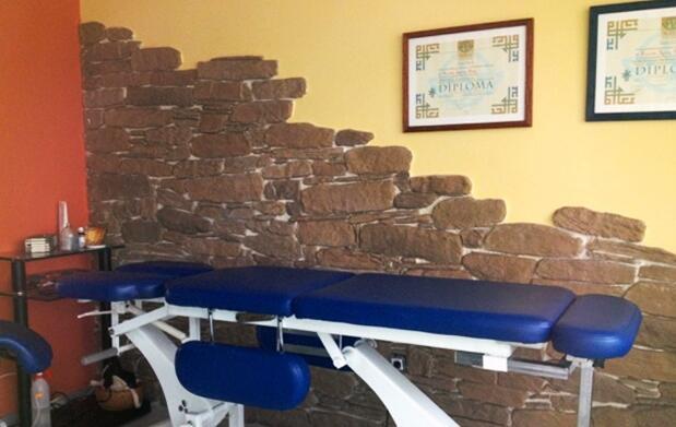 Masaje y técnicas osteopáticas