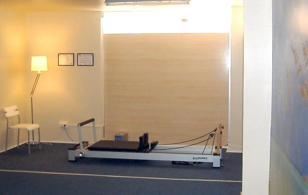Pilates con máquinas en clínica