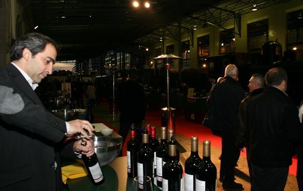 Muestra-degustación de grandes vinos