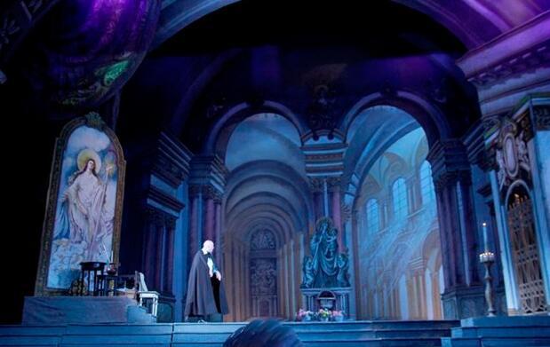 Opera Tosca en Gijón