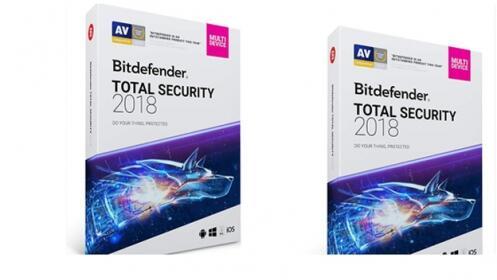 Antivirus  Bitdefender Total Security 2018