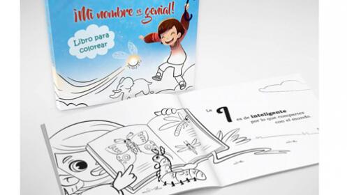 ¡Mi nombre es genial!... Cuaderno infantil para colorear