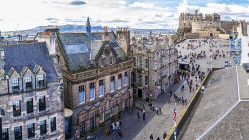 Edimburgo: 3 noches en hotel+desayuno + vuelos