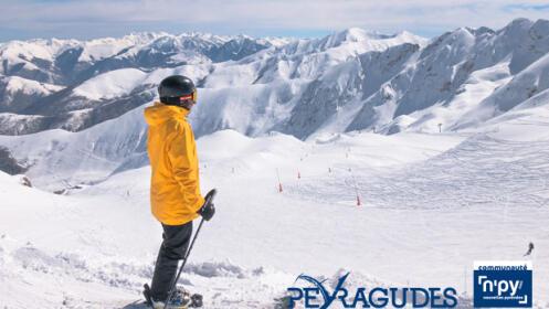 ¡Reserva ya tu experiencia en la estación de esquí PEYRAGUDES!