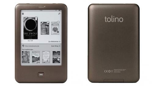Libro electrónico Tolino Shine- E-reader