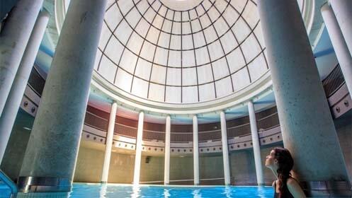 Circuito termal en Centro Ecotermal Aquaxana