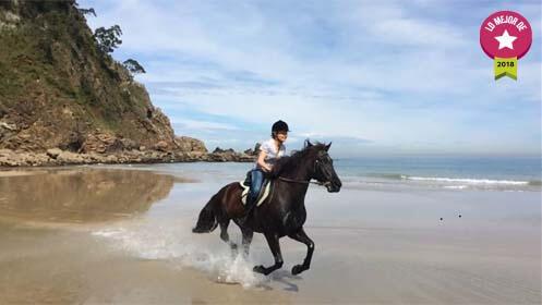 Un plan diferente, ruta a caballo y menú casero en restaurante