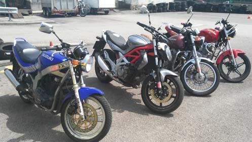 Carnet de moto AM A1 o A2