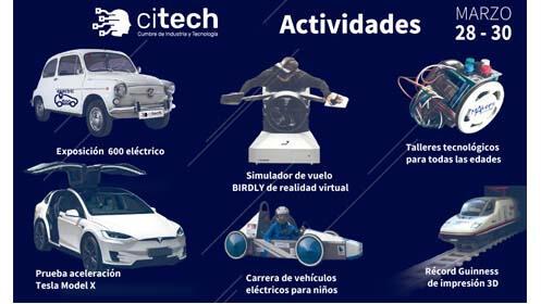 Entradas CITECH. Cumbre de Industria y Tecnología de Asturias