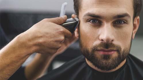 Corte de pelo caballero o niño y además puedes añadir afeitado o perfilado de barba