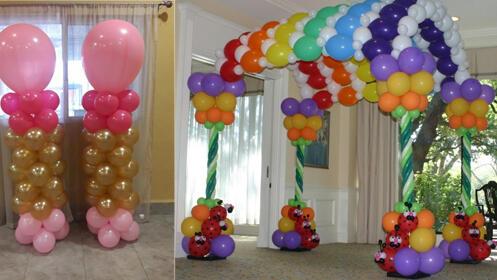 Taller práctico de Iniciación en pintacaras, globoflexia y decoración con globos