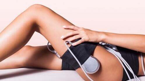 Presoterapia y electroestimulación