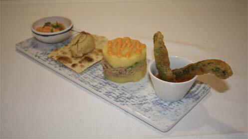 Menú degustación en Restaurante Nature