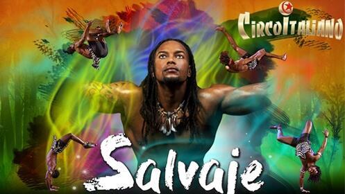 """Entrada al espectáculo """"Salvaje"""" del Circo Italiano del 27 de abril al 6 de mayo en Oviedo"""