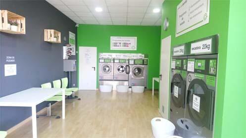 Lavado, secado y planchado de ropa