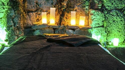 Masaje individual o ritual en pareja con peeling cítrico. Relajación profunda