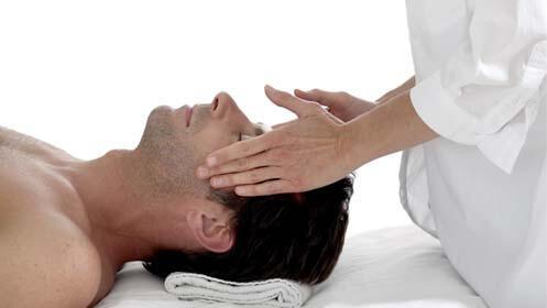 Masaje cráneo facial unisex
