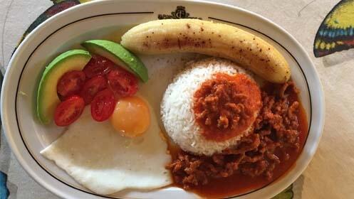 Menú caribeño. Especial comida cubana