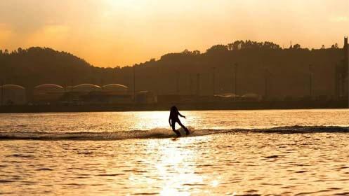 1 hora de wakeboard