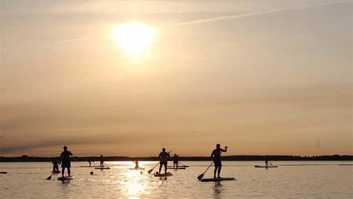 Kayak, paddle surf, bebidas y snack para dos personas