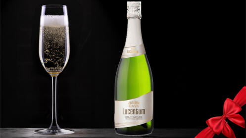 Pack de 12 botellas de Cava Lucentum Brut Nature