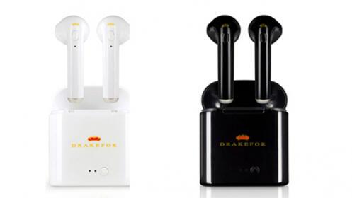 Auriculares iEarphones con base de carga